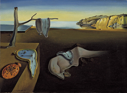 "Now the whole party is melted like Dali. Salvador Dali ""The Persistence of Memory"" 1931"