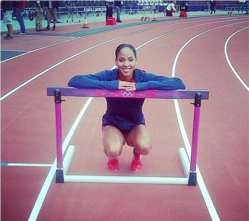In her Olympic debut, T'erea Brown ran a personal best (54.72) to move to the semifinals of the 400m hurdles.