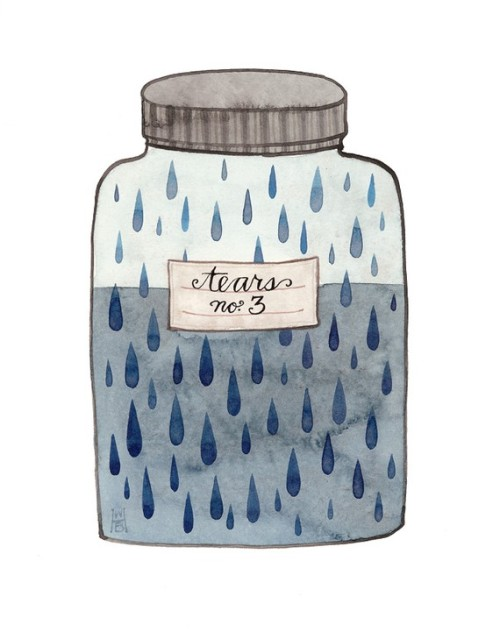 bookspaperscissors:  Jar of tears, Golly Bard