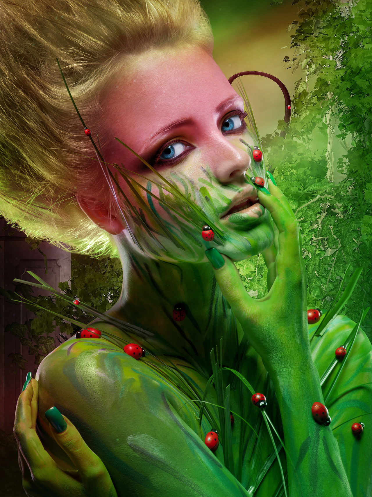 Digital art selected for the Daily Inspiration #1206