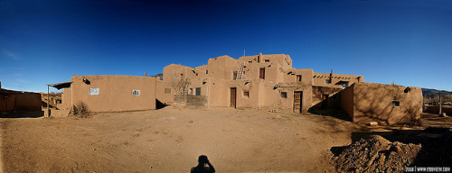 taos_pueblo on Flickr.taos pueblo, new mexico about 10 vertical frames stitched together with autostitch. I could be wrong about the number 10.  i decided not to clone myself out at the bottom. facebook .prints .twitter
