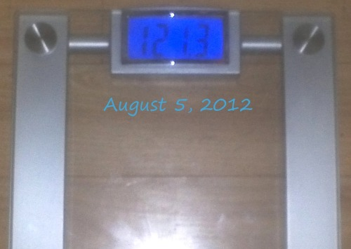 Today's Weight: 121.3lbs.Total Lost: 16.3 lbs.Last month on the 3rd day before my period, I gained 1.9 lbs. This time I only gained .6 lbs. I'm perfectly ok with that! Sorry for TMI, but that's what this week is for me and I've been stressing out since the very beginning because I didn't know how much my weight was going to go up. I'm definitely running today!