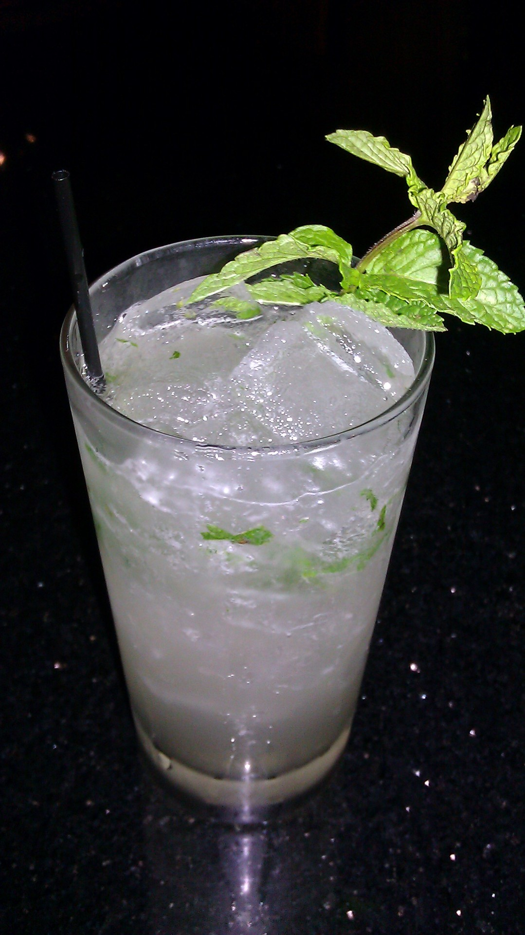The Momokawa Mojito. One of our special drinks for the summer. Come try it out!