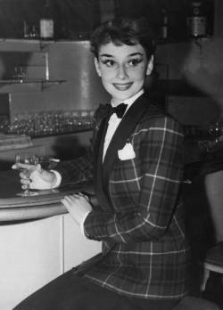 Impeccable Audrey.