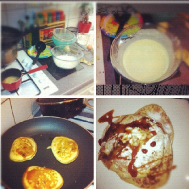 American pancake  #hollaaaaaaaa (Taken with Instagram)