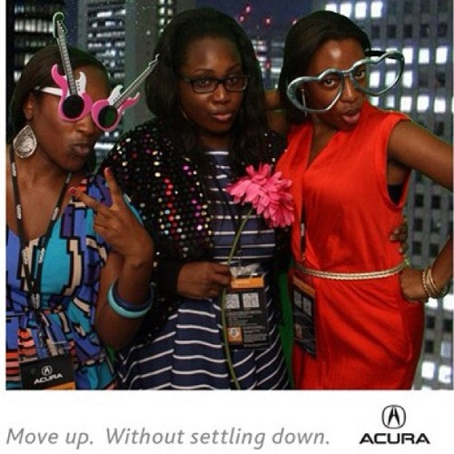 Ladies of Leisure ( @osochic & @hergoodybag ) #acurailxexperience #fb  (Taken with Instagram)