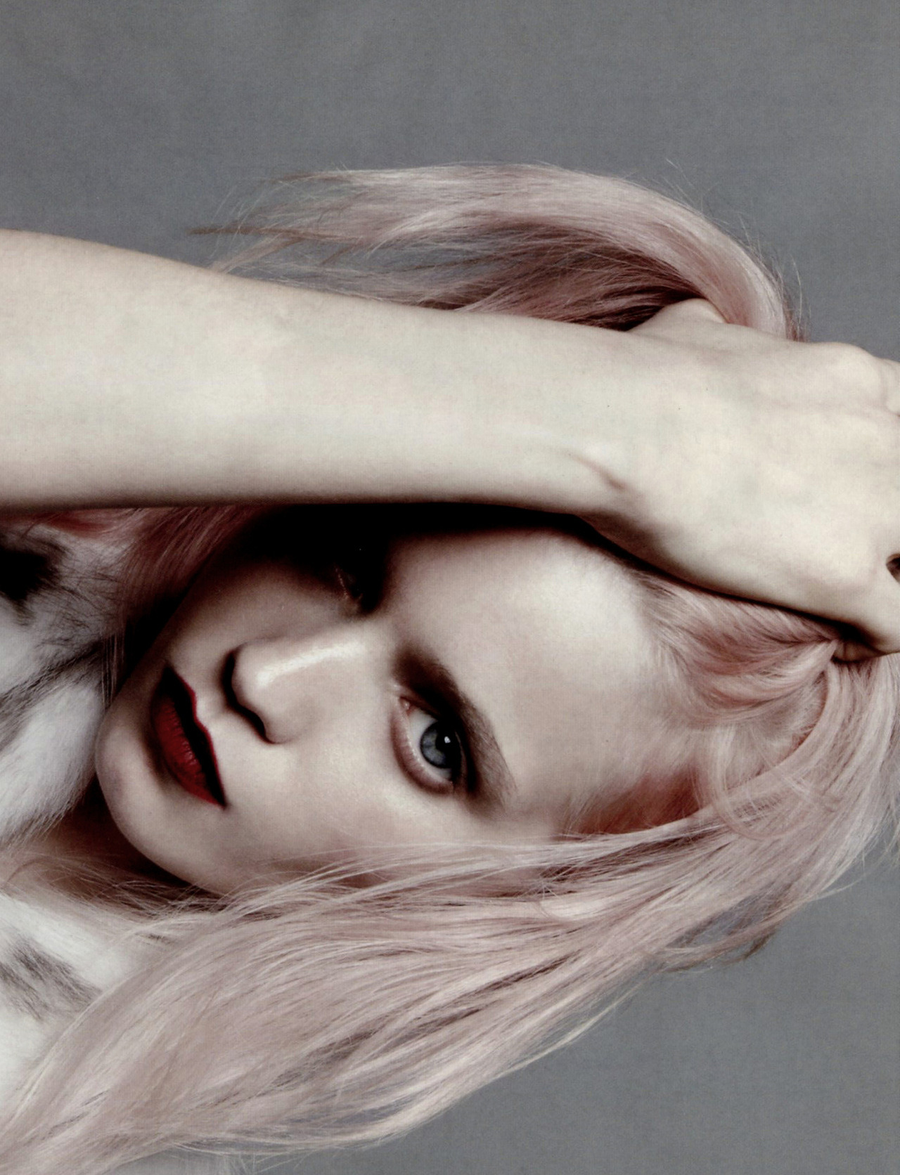voguelovesme:  Abbey Lee Kershaw by Daniel Jackson, Vogue China July 2012