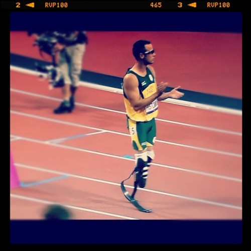 you can be so proud. you did your best. @oscarpistorius #london2012 (Wurde mit Instagram aufgenommen)