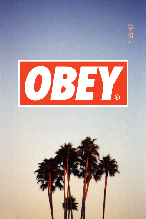 obey-surpreme:  REBLOG if you fuck with obey