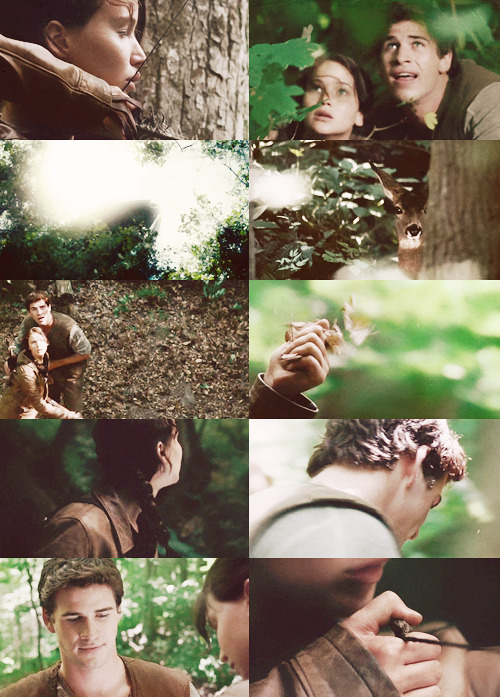 "behindmylove:  ""Leave the district. Run off. Live in the woods. You and I, we could make it"" Gale Hawthorn"