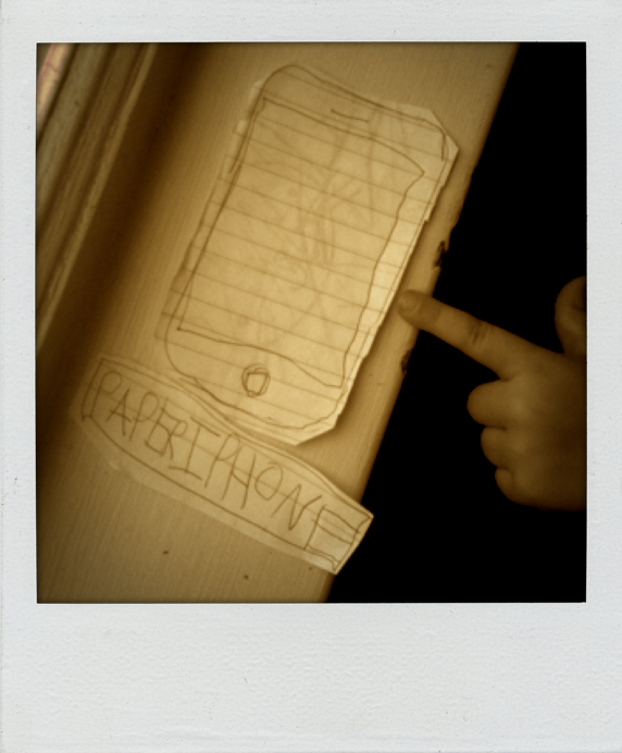 Oh yeah, another paper iPhone. Because apparently, you can't really have enough.