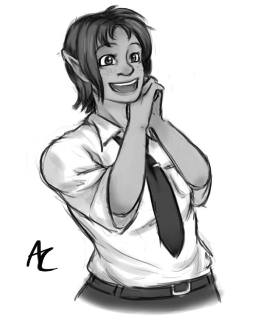 Sketch commission for my friend JD of his character Julia. She's adorable! I was also commissioned to make the logo and some icons for the Touhou Patch Wiki earlier, check it out.