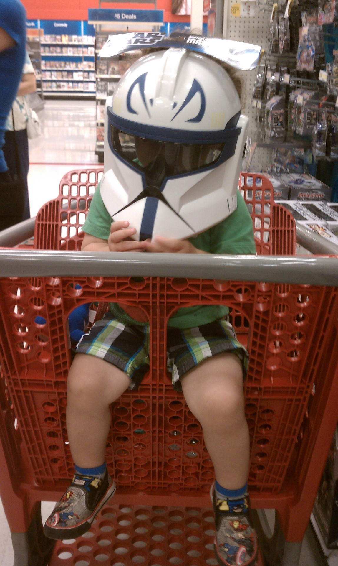 My nephew as Darth Vader.