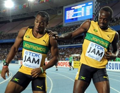 BOLT and BLAKE!! Lightning and the Beast. 1-2. Gold and Silver!!!