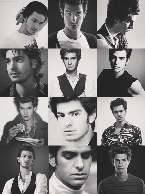 "its-emmastone:  Andrew Garfield in black and white ""I need to feel like I'm doing some kind of good. It sounds cheesy, I know, but I feel like I have a really big guilt complex and that if I'm not doing any kind of good then there's no real reason for being. I believe that doing movies like this is positive because they can inspire and be entertaining."""