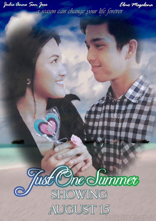 Another Personalized Movie Poster | Just One Summer in 9days | credits to Miss Pia for the photo i've used (Artwork submitted by: world-of-rein)
