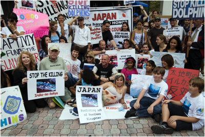 voiceoftheocean:  SAVE JAPAN DOLPHINS DAYOn August 31st, head down to your nearest Japanese Embassy, Consulate, or event to celebrate Save Japan Dolphins Day. Help raise awareness about the dolphin slaughter in Japanese waters. You can find an event near you on the INTERACTIVE MAP, which also include the event details. You can also visit the events  facebook to see more events that have been added If an event isn't listen in your city, organize your own! Just contact laurab@earthisland.org for more details. You can find out more information on Save Japan Dolphins Day here.Read more in the dolphin slaughters here.  18 Days Left!Keep checking back to these pages as new events are being added almost every day!  Crossing my fingers that I'll be going to the one in Charlotte, North Carolina! Leilani Munter is also going and bringing along her NASCAR (: