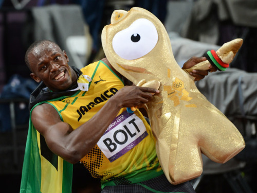 Usain Bolt wins GoldLondon 2012