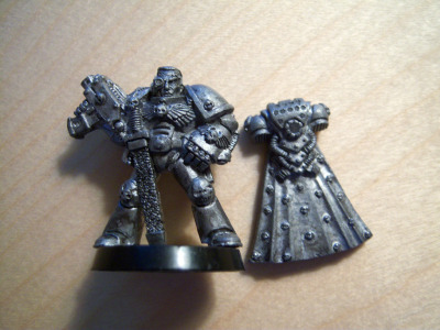 1991 Games Day Limited Edition Space Marine Captain (LE4) This is the first Space Marine miniature ever given out at a Games Day Convention. Only a few thousand of these were ever made and was never available for purchase. #Warhammer40k #Tabletop