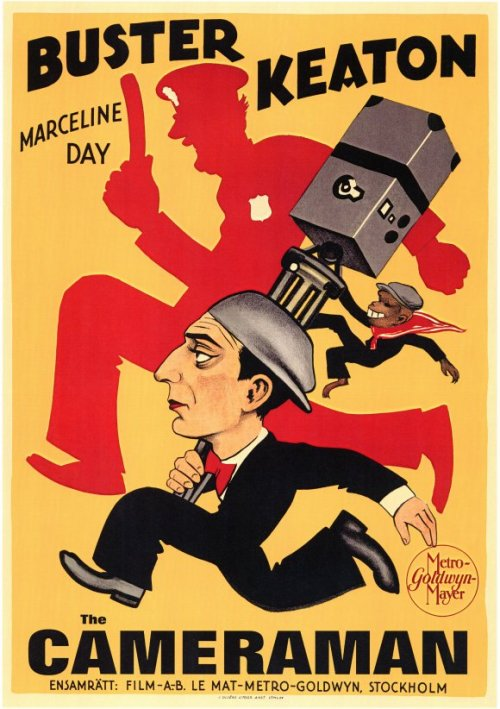 THE CAMERAMAN *** 1928, dir. Edward Sedgwick and Buster Keaton, DVD