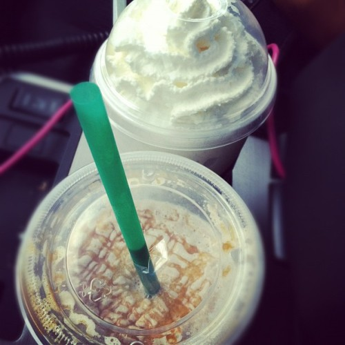 @starbucks run before the mtg at work!  (Taken with Instagram)