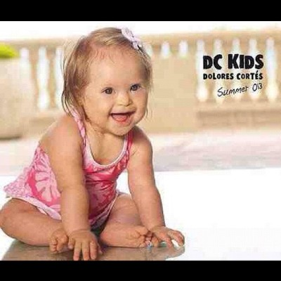 We need to see more of this. #beautiful little #downsyndrome #girl modelling for #dc #world #love #equal #specialneeds (Taken with Instagram)