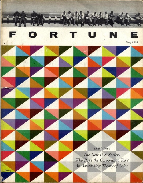 Fortune, May 1959Art director: Leo Lionni Source: Full Table