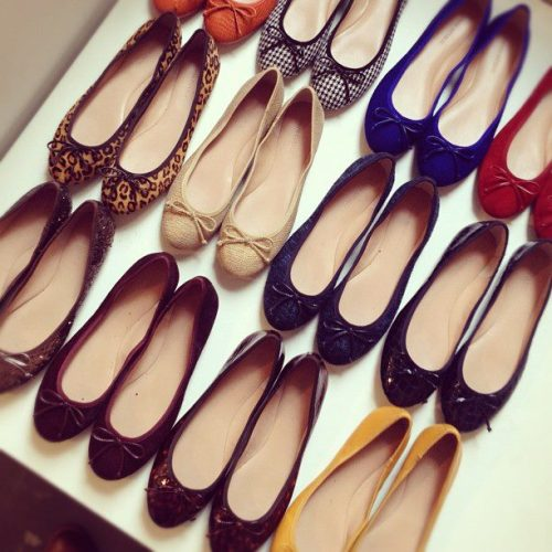 "A variety of beautiful ""Ashley"" flats from Banana Republic. [All styles currently retail for $98, click through to buy]"