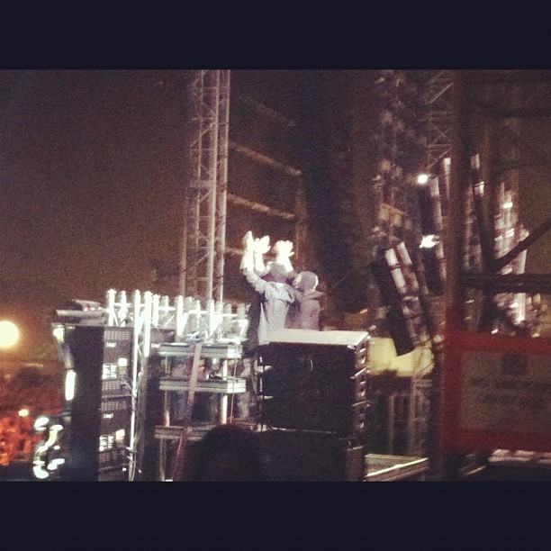 Bloody beetroots #latergram #hardfest  (Taken with Instagram at HARD Summer 2012)