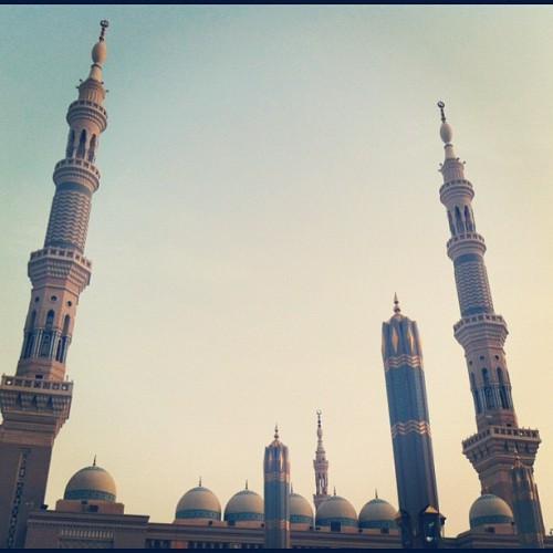 #imacitychanger #islam #mosque #architecture #madinah  (Taken with Instagram)