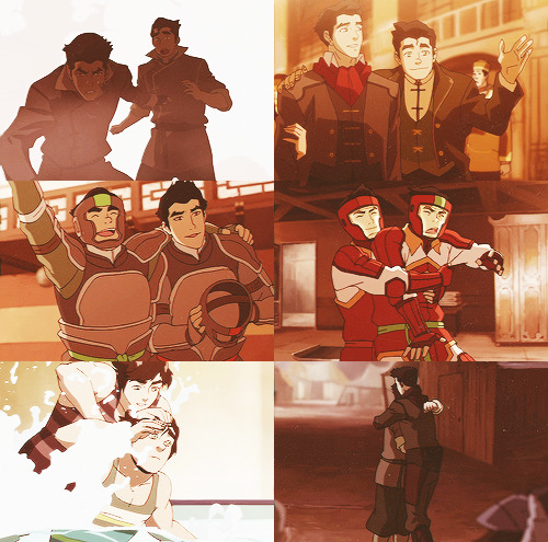 Bolin's the only family I have left, if anything happened to him… - 6 Photos of Mako and Bolin requested by jensenackleseyewrinkles.
