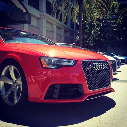 gearpatrol:  Sunday drive: Audi RS5 x5 (Taken with Instagram)