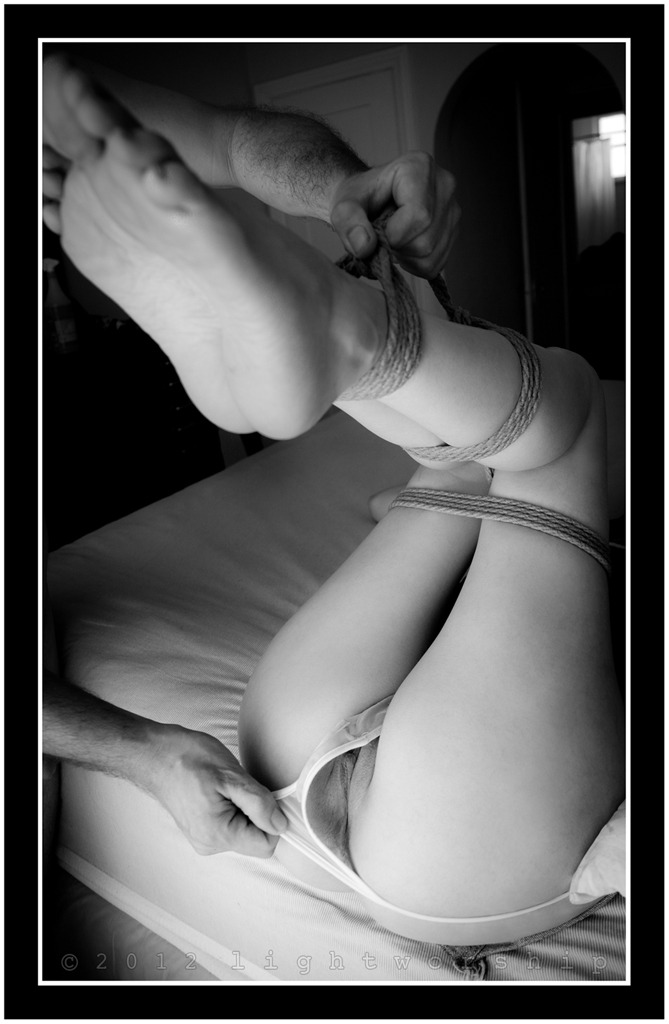 Panties, Rope, Feet #2©2012 LIGHTWORSHIP