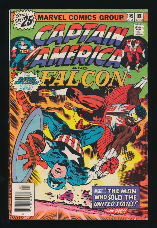 kirbycovers:  Captain America #199(Jul. 1976)