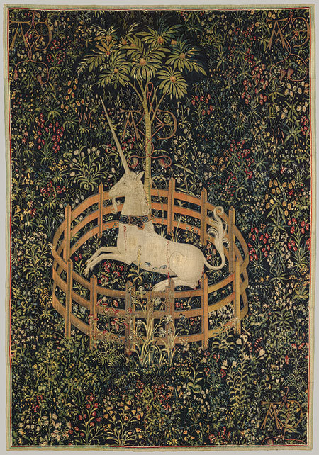 The Unicorn in Captivity, ca. 1495–1505.