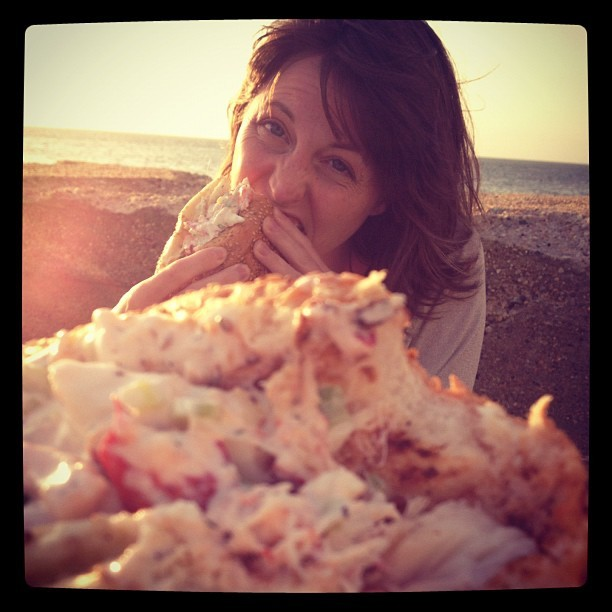 Attack of the lobster rolls (Taken with Instagram at Duryea's Lobster Deck & Seafood Market)