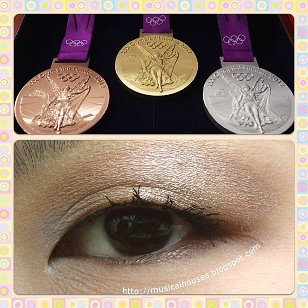 On the blog: Olympic medal-inspired eye look! #makeup #beauty #eotd #eyelooks #sgig #sgigbeauty #igsg #igsgbeauty (Taken with Instagram)