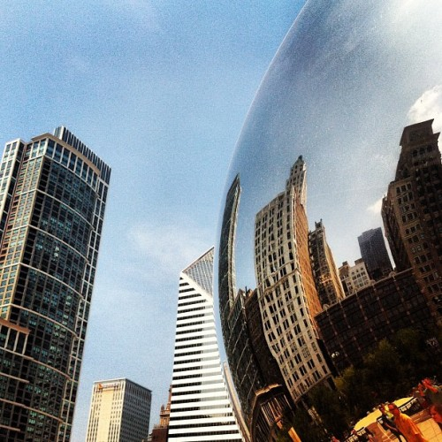 The Bean #chicago #brandonkoppelphotography (Taken with Instagram)