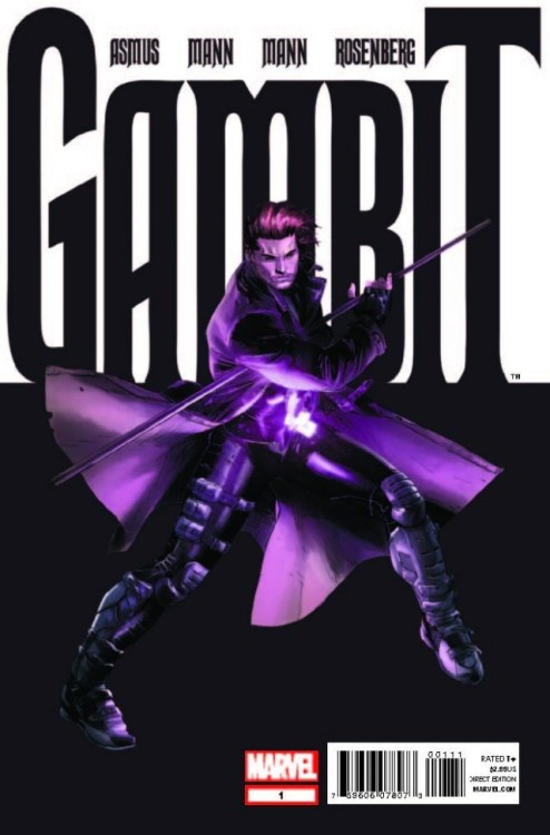 Market Monday Gambit #1, colored by Rachelle Rosenberg  ALL-NEW ONGOING SERIES! When Marvel's premiere thief sets his sights on his biggest score yet, he may just end up over his head. It's going to take more than just playing cards and southern charm to get out of this one! BONUS! Bella Donna is NOT in this issue!  ~Preview~
