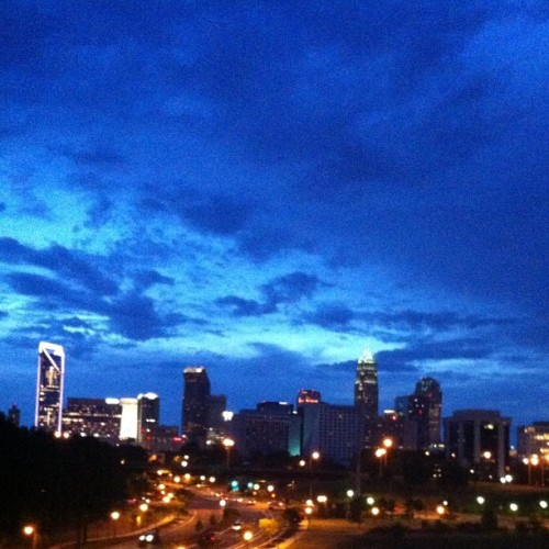 My view. #NoEdit #Charlotte  (Taken with Instagram)