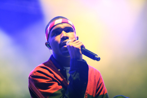 Frank Ocean at Lollapalooza. Photo by Kirstie Shanley— more here.