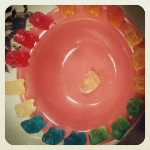 I may, or may not, still play with my food. (Taken with Instagram)