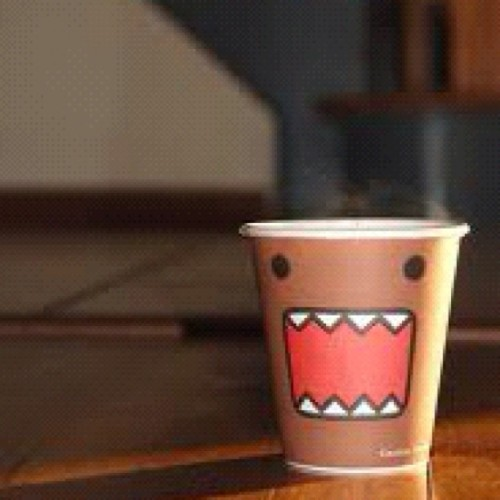 chulbuligirl:  #cute #coffee #cup #mug #funny #face #cutecoffeecup (Taken with Instagram)