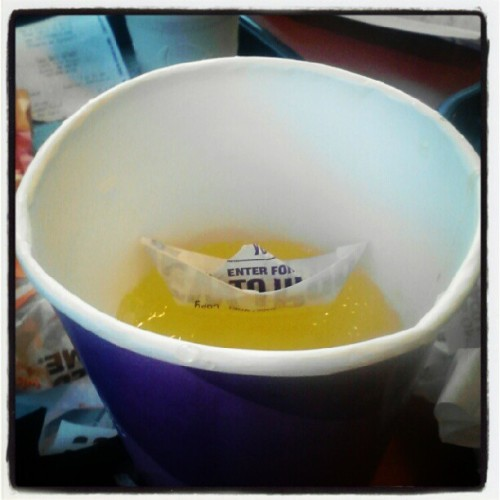 There is a boat in my mtn dew (Taken with Instagram)