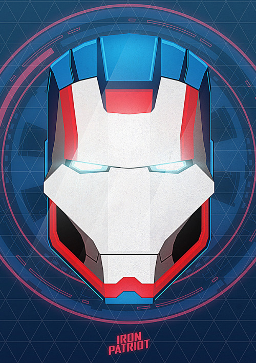 IRON PATRIOT Art Is Ready To Blast Off