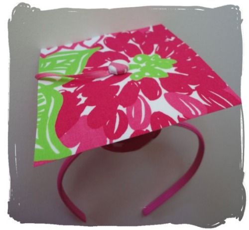Lilly Graduation Cap
