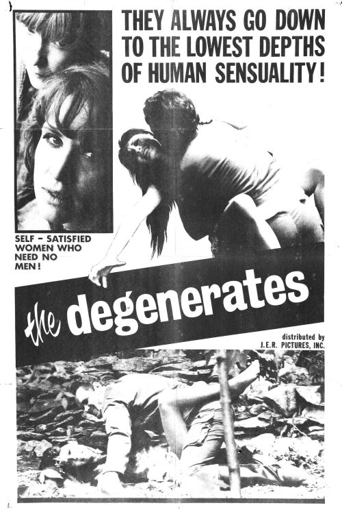 The Degenerates (1967, USA)