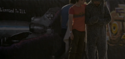 MCA love on Wilfred.