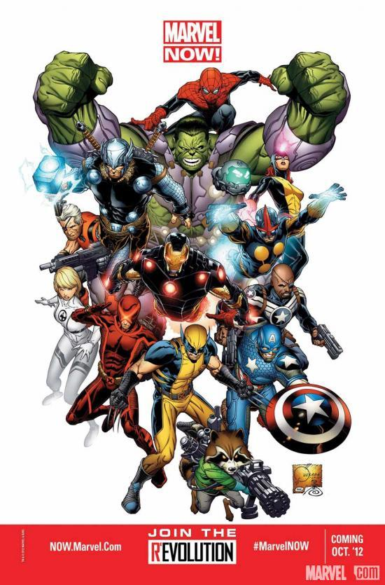 Beginning in October 2012, Marvel starts a bold new chapter in its history, with Marvel NOW!, a publishing initiative extending into 2013 that will touch every major Marvel character from the Avengers to the X-Men to Spider-Man to the Fantastic Four and beyond. Marvel.com spoke with Marvel Chief Creative Officer Joe Quesada, Editor-in-Chief Axel Alonso and Senior VP – Executive Editor Tom Brevoort to get all the details on what to expect from Marvel NOW! More on Marvel.com: http://marvel.com/news/story/19008/marvel_now#ixzz22jCuREDy
