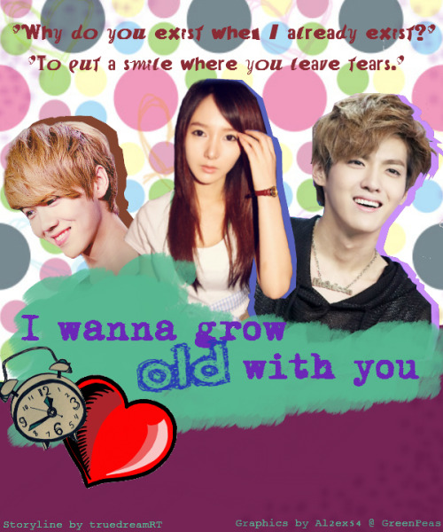 I wanna grow old with you - comedy horror romance taemin you exo - main story image